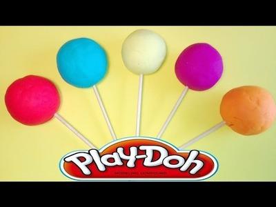 PLAYDOH PEPPA PIG lollipops plastelina Lalaloopsy kinder surprise eggs minnei rainbow colors