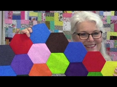 Quick and Easy English Paper Piecing. really quick!