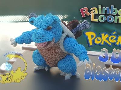Rainbow Loom 3D Pokemon Blastoise Body (5.8)