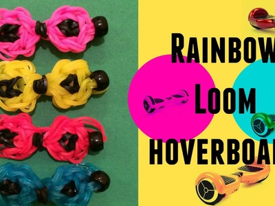 Rainbow Loom Bands Hoverboard Charm Easy & New 2016
