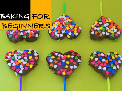 Rainbow Olive Oil  Brownie Pops - Valentine's Day Special!