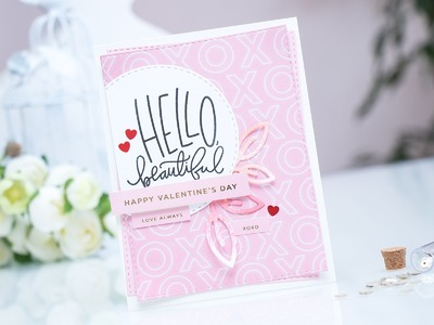Simon Says Stamp February 2016 Card Kit Direct to Paper Inking for Die Cuts by Yana Smakula