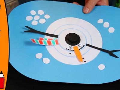 Snowman Thermometer | DIY Craft Ideas With Øistein