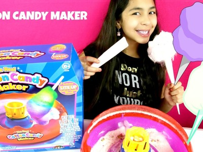 The Real Cotton Candy Maker Review Cra-Z-Art Cotton Candy DIY| B2cutecupcakes