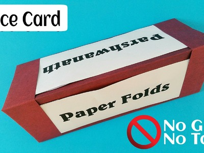 """Useful Origami - Paper """"Place card"""" - Simple and easy - No glue or Tape"""