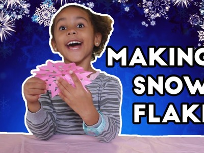 Christmas Holiday Paper Craft | How to Make Holiday Snowflakes!