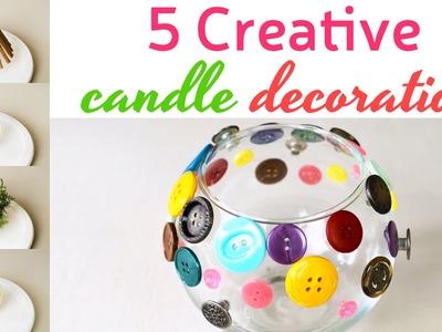 DIY Candle Holder Decoration   Creativewithlove