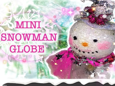 DIY Snowman Mini Decoration | Christmas Marathon | TheJunkingDataGirl