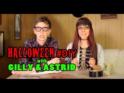 Halloween DIY with Gilly and Astrid!