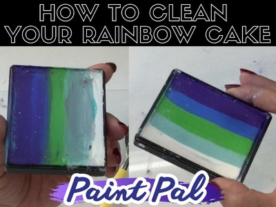 How to Clean Your Rainbow Cake