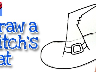 How to draw a Witch's Hat Real Easy