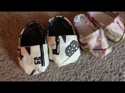 How to make 18 inch doll shoes