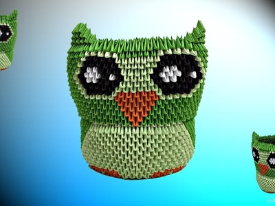 How to make 3d Origami Owl 2