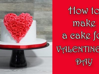 How to make a cake for Valentine's day. Jak zrobić tort na Walentynki