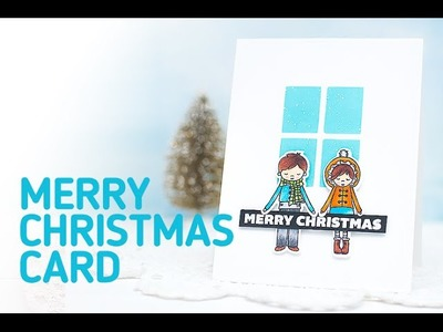 How to Make a Clean and Simple Christmas Greeting Card