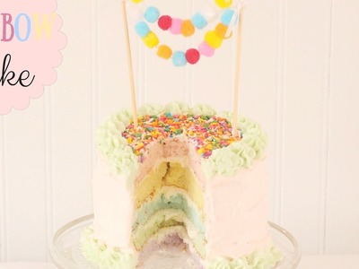 How To Make A Pastel Rainbow Cake