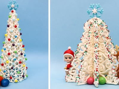 How To Make A White Christmas Tree From Candy Melts