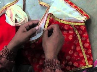 How to make Fashionable designer blouse Q part 20 hindi