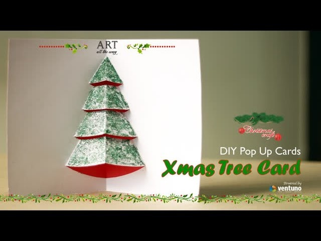 How to make : Pop-up Christmas Card