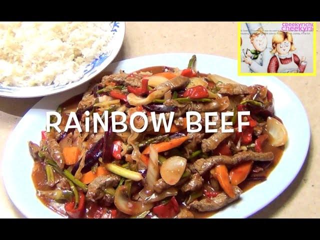 How to Make Rainbow Beef like a Chinese Restaurant cheekyricho 1,092