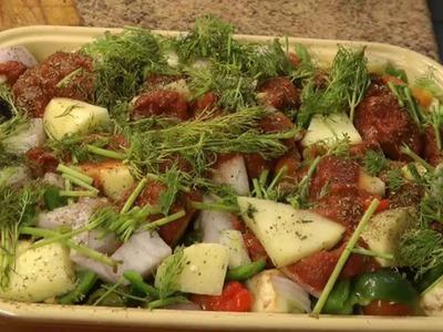 How to Make Vegetarian Greek Briam