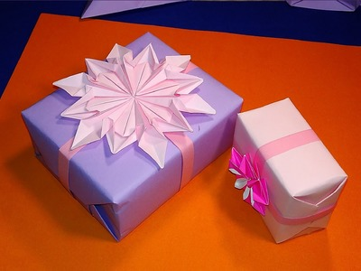 How to wrap a gift. Ideas for gift wrapping for Valentine's day