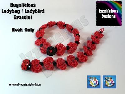 Rainbow Loom Ladybug Bracelet - Bugalicious -  Rainbow Loom Ladybird Bracelet | Necklace | Headband