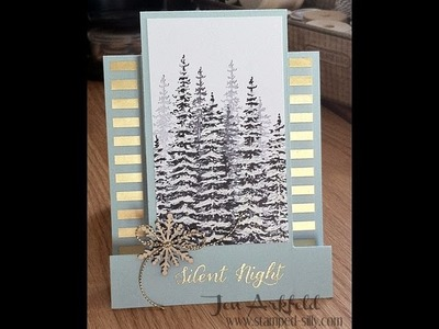 Step Card How To - with Wonderland from Stampin' Up!