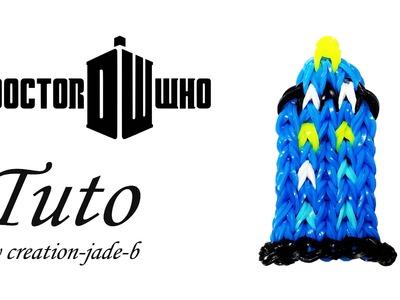 Tuto Rainbow Loom - Doctor Who Cabine Téléphonique TARDIS !