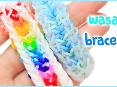 Wasabi Bracelet | HD Rainbow Loom Tutorial | One Loom