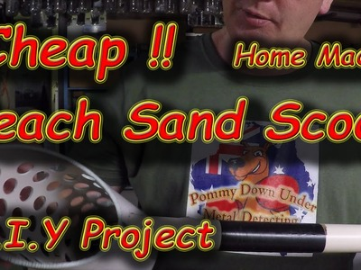 #35 How to make a Sand Scoop for $0, DIY Project