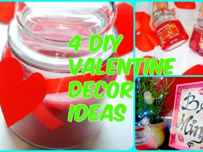 4 DIY Valentine Decor Ideas