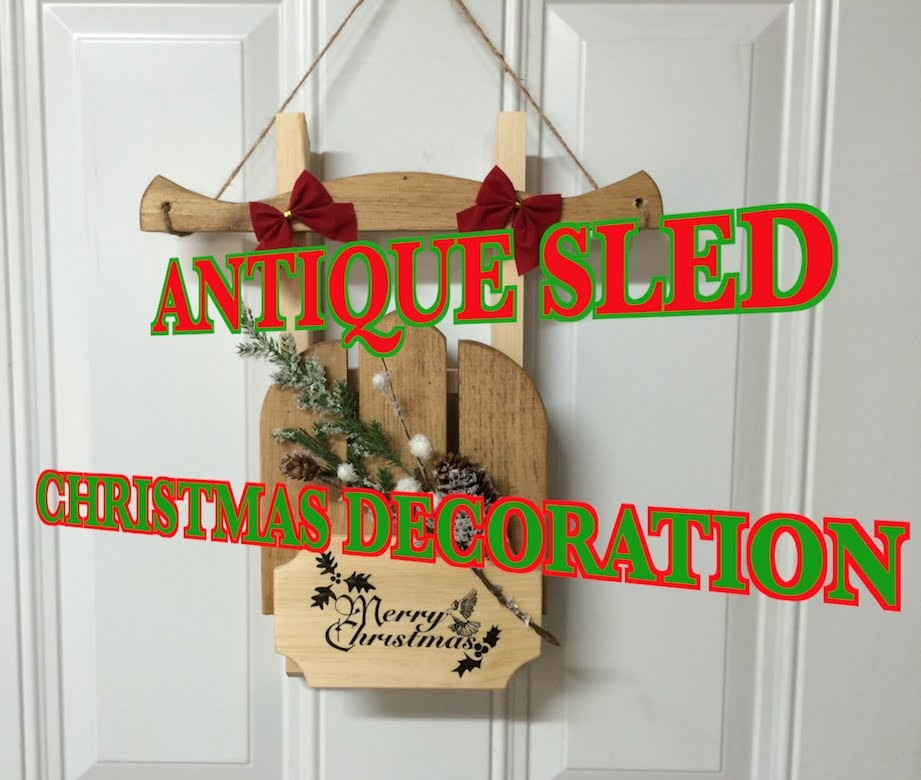 A Simple Christmas Door Decoration And a Special Thanks To 600 Subscribers
