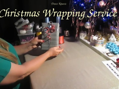 ASMR Christmas Gift Wrapping Service Role Play