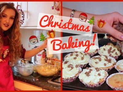 Baking Christmas Cupcakes + Gingerbread Men   BeautySpectrum