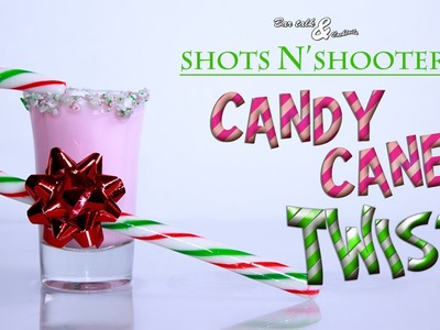 Candy Cane Twist shot - Day 1 - 12 Shots of Christmas