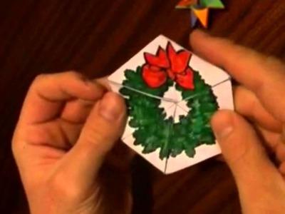Christmas Flexagon
