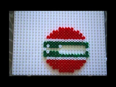 Christmas ornament hama beads