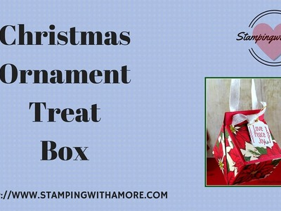 Christmas Ornament Treat Box