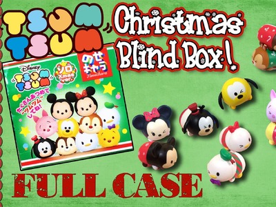 Disney Tsum Tsum Christmas Squishies Blind Boxes! With Mickey, Minnie & Pooh!