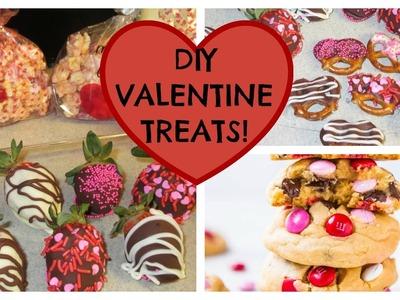 DIY VALENTINE TREATS! (COLLAB)