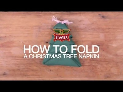 Every Day Wiser: Christmas Tree Napkin