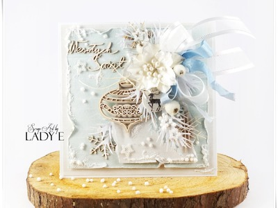 Frozen Christmas Card Tutorial