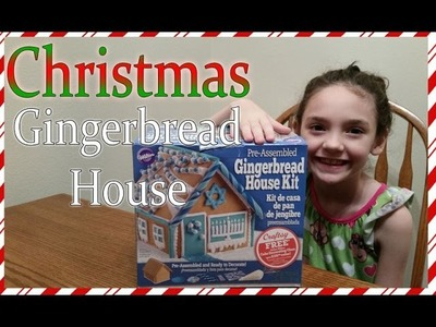 Gingerbread House Christmas Decorating FROZEN colors