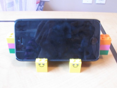 How To Make A Lego Phone Stand