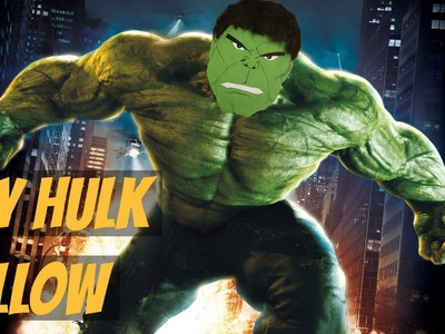 I'M ALWAYS ANGRY | DIY Hulk Pillow | VALENTINES Gift For Him | Jtru