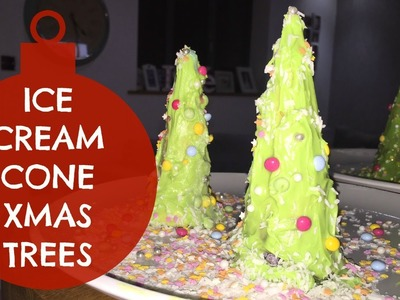 ICE CREAM CONE CHRISTMAS TREES  |  EMILY NORRIS