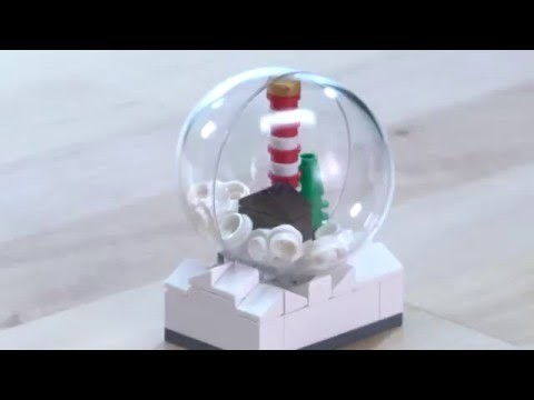 LEGO® Creator - How to Build a Snow Globe - DIY Holiday Building Tips