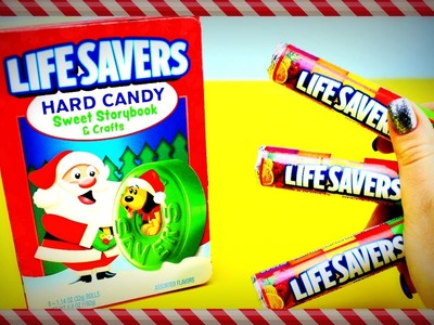 LIFE SAVERS  Hard Candy Sweet Storybook with The Christmas Puppy