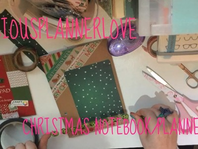 Making a Christmas Planner from a Budget Notebook